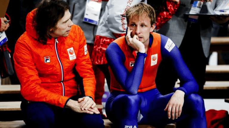 Schaatsen – Jammer van de sprint