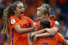 Online wedden op sportuitslagen. Oranje leeuwinnen moeten zich nu kwalificeren voor WK in Frankrijk